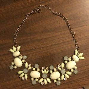Green necklace from J.Crew